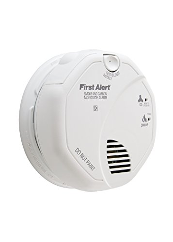 Smoke Detector Wiring (First Alert BRK SC7010B Hardwire Combination Smoke and Carbon Monoxide Alarm with Battery Backup)