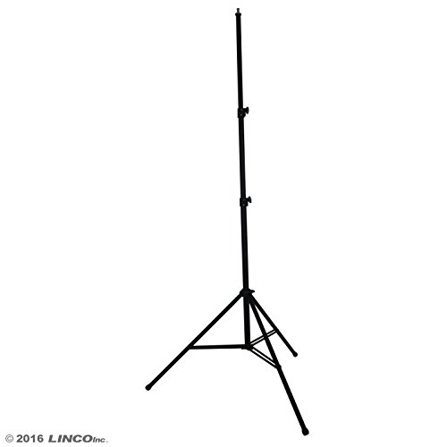 Linco Lincostore Zenith 9 feet Heavy Duty Light Stand for Photography Strobe Flash Lighting by Linco
