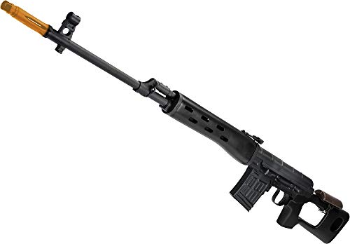 Evike AIM CO2 High Power Gas Blowback AK SVD Airsoft GBB Sniper Rifle - Multiple Options Available