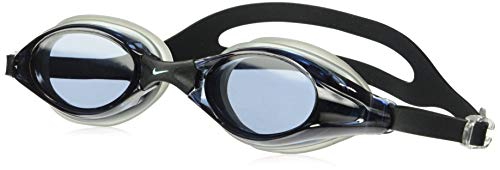 NIKE Swim Men's Hydra Fem/Valient Swim Goggle 2-Pack, Smoke/clear ()
