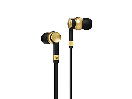 Master & Dynamic ME05BR High Performance Precision Brass in-Ear Earphones with Separate Remote and Mic Sound with Beautiful Custom Design. Brass ()