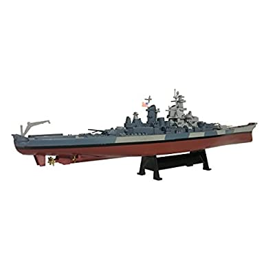 USS Iowa 1944 - 1:1000 Ship Model (Amercom ST-13): Toys & Games