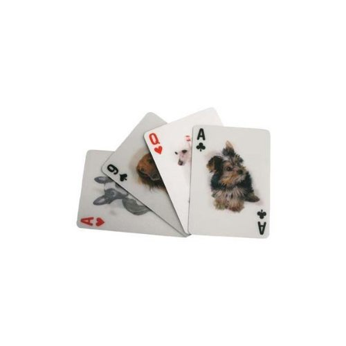Dog Playing Cards - Kikkerland 3-D Lenticular Dog Pokersize Playing Cards