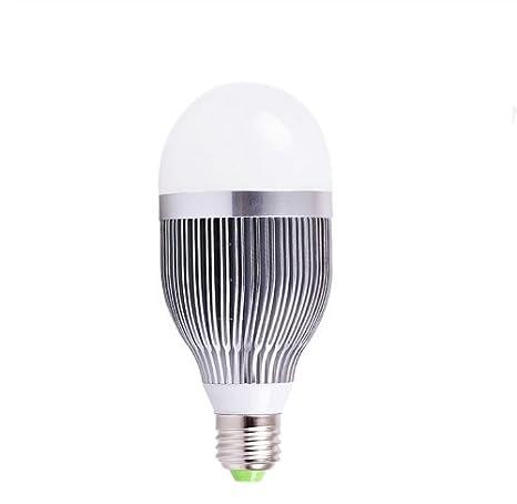 Domire Silvery 9 W E27 LED bombilla foco blanco cálido de repuesto 80 W bombilla incandescente bombillas de bajo consumo luces: Amazon.es: Iluminación