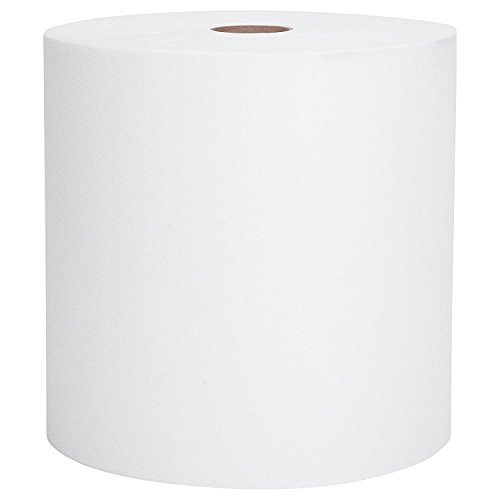 Scott Essential High Capacity Hard Roll Paper Towels (01000), White, 12 Paper Towel Rolls / Case, 1,000' / Roll, 12,000' / Case