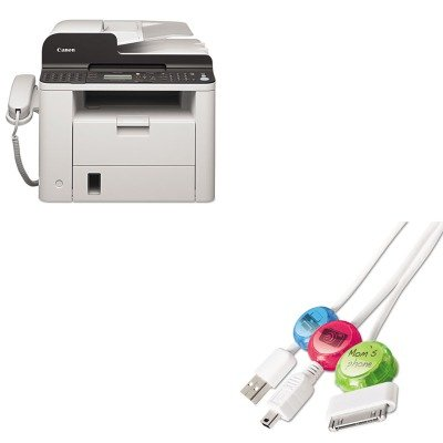 KITCNM6356B002PRBDCI101COCB - Value Kit - Canon FAXPHONE L190 Laser Fax Machine (CNM6356B002) and Paris Business Products Dotz Cord Identifier (PRBDCI101COCB) by Canon