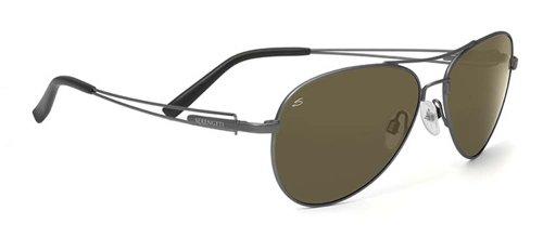 Serengeti 7541-Brando Brando, Velvet Gunmetal, Polarized - Promotion Sunglasses