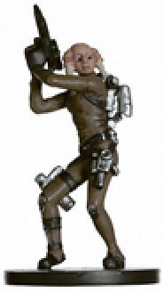 Star Wars Miniatures: Iktotchi Tech Specialist # 47 - Revenge of the Sith