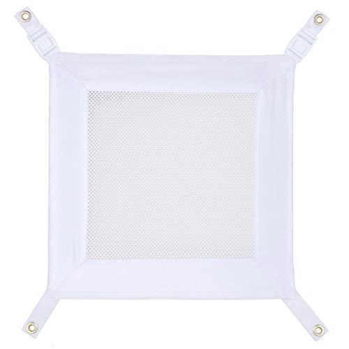 Guidecraft Kitchen Helper Keeper - White: Clip-On Safety Net Attachment for The Kitchen Helper