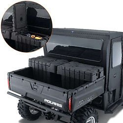 Polaris Cargo Box (Polaris 2877033 Lock & Ride Cargo Box, One Box Only)