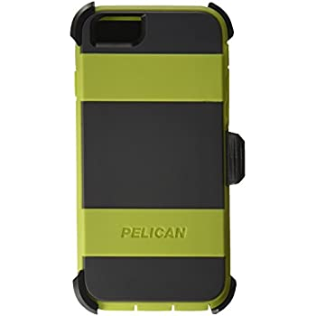 timeless design 63119 1ce32 Pelican Voyager Rugged Case with Kickstand Holster for iPhone 6/6s - Retail  Packaging - Green & Gray