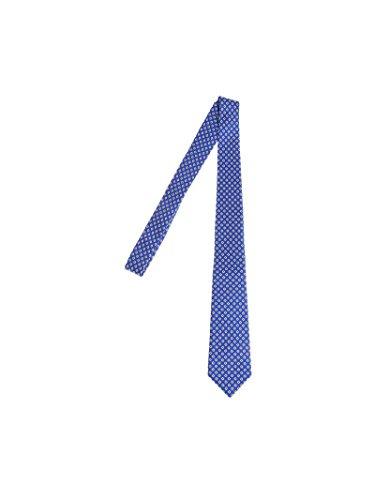 Kiton Men's Cravatta12 Blue Silk Tie by Kiton