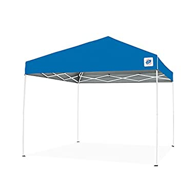 E-Z UP Envoy Instant Shelter Canopy, 10 by 10', Blue
