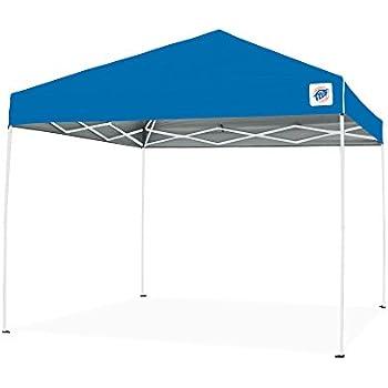 Pop Up Canopy Tent >> Ez Up Env9104bl Envoy Pop Up Canopy Tent 10x10 Blue