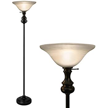 Amazon.com: OK iluminación ok-4161ftr 71-inch H Antique ...