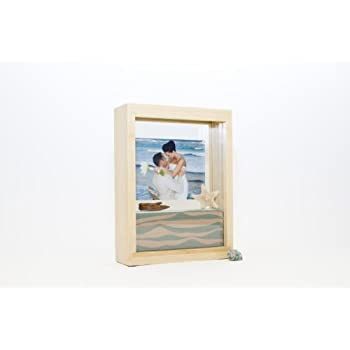 Amazon.com - Unity Sand Ceremony Frame Kit, Bamboo Wood, Includes 2 ...