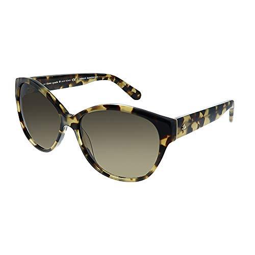 Kate Spade Women's Kiersten 2s Oval Sunglasses, CAMEL TORTOISE, 56 - Sunglasses Tortoise Spade Kate