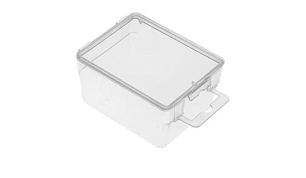 Caja plástico transparente - 75 x 60 x 40 millimeter: Amazon.es ...