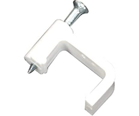Amazon.com: Steren Grip Clip Dual Cable Clips - 100/Pack: Office Products