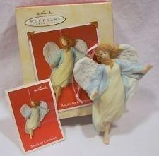 Hallmark Porcelain Keepsake Ornament ~ Angel of Comfort ~ 2002