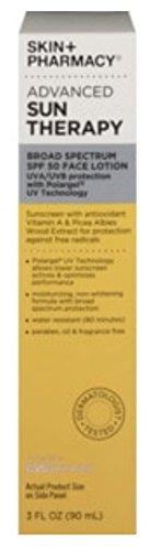 Skin   Pharmacy Advance Sun Therapy Broad Spectrum Spf 50 Face Lotion  3 Fl  Oz