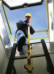 Bilco LU-1 Steel LadderUp Safety Post
