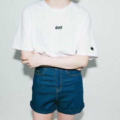 SODIAL Tシャツ カップル 男女兼用 レディース 夏 刺繍 純色 ラウンドネック 半袖 カジュアル レーヨンゆるTシャツ 無地 女性 メンス カットソー ストレッチ 着痩せ