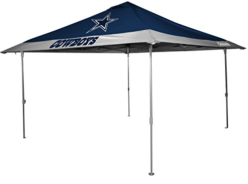 Rawlings NFL Dallas Cowboys Unisex 07561065111NFL 10x10 Eaved Canopy (All Team Option), Blue, X-Large