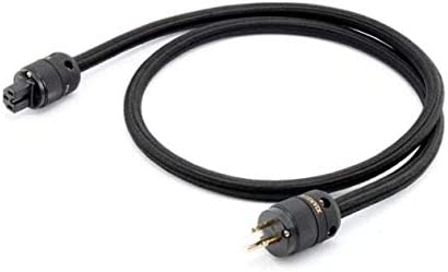 Standard: US Plug, Color: 3M Jammas Oxygen-free copper power cord audio power cable amp American standard power cord