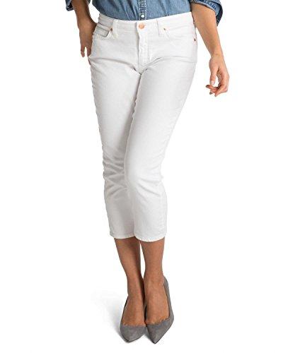 SPANX Slim-X Casual Capri Jeans in White, Style SD2415 (28, (White Capri Jeans)