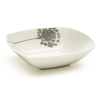 Floral Silhouette Coupe Soup Bowl