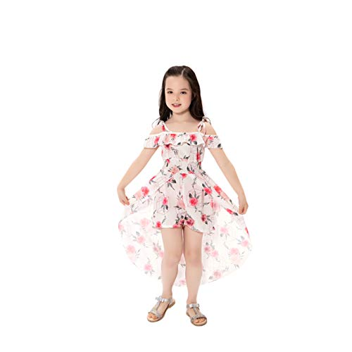 NoNoAnt Kids Girls Summer Sling Sweet Floral Dress