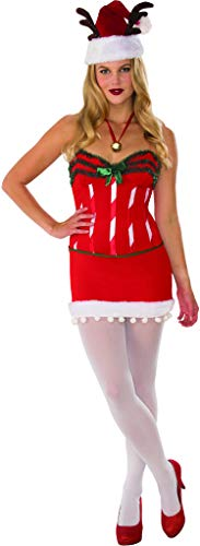 Secret Wishes Christmas Collection Santa's Helper Costume, Red, X-Small