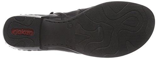 Rieker 52280 Damen Chelsea Boots Schwarz (schwarz / 00)