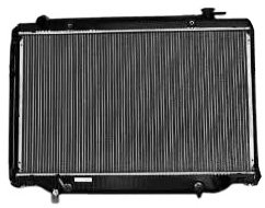 TYC 1918 Toyota/Lexus 2-Row Plastic Aluminum Replacement Radiator ()