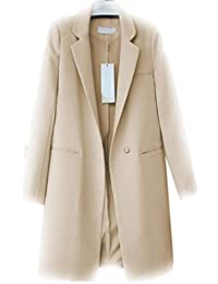 ab0d6ba1573 Women Blazers Jackets Spring Autumn Casual Long Women Suits Wide Waisted  Solid Female Jacket
