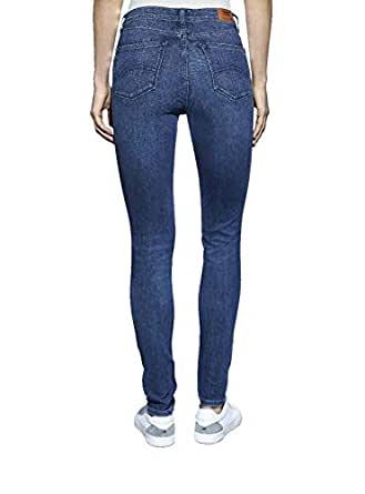 Tommy Hilfıger Kadın Horizon Dark Blue Stre Skinny Kot Pantolon, Lacivert, 27-30