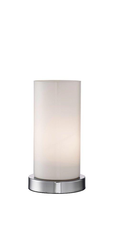 Lighting collection 700065 e27 edison screw 60 watt light touch table lamp chrome amazon co uk lighting