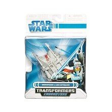- Hasbro Star Wars Transformers Crossovers Snowspeeder to Luke Skywalker