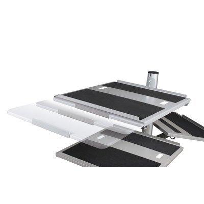 Balt Beta Sit Stand Mobile Workstation Cart Optional Document Camera & Equipment Shelf, 15