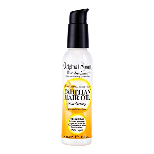 Original Sprout Tahitian Hair Oil 4 ounce