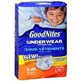 Health & Personal Care : Good Nites Underwear for Boys Small/Medium