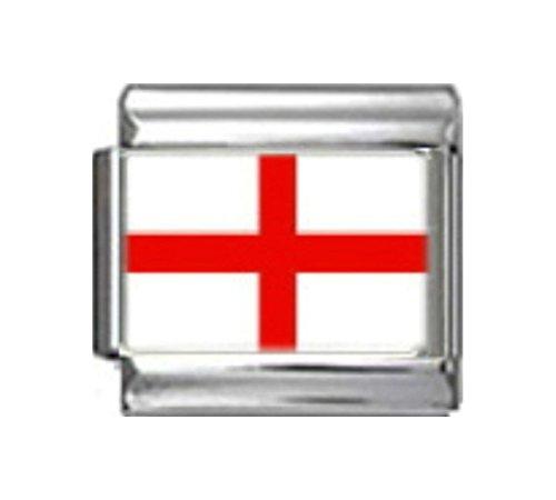 Italian 9 Mm Photo - Stylysh Charms England English UK Flag Photo Italian 9mm Link PC054
