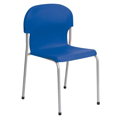 Metalliform 2020-sg-blue standard Classroom sedia con sedile 430mm, blu
