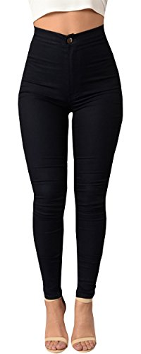 Ybenlow Womens Elastic Waistband Leggings