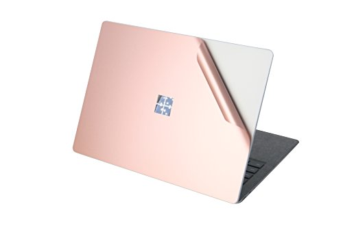 Leze - Surface Laptop Body Cover Protective Stickers Skins for Microsoft Surface Laptop - Rose Gold