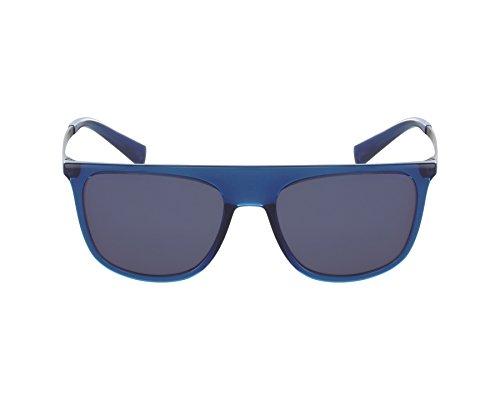 Dolce & Gabbana Sunglasses (China Factory) Men's Injected Man Sunglass Non-Polarized Iridium Square, Transparent Blue, 55 ()