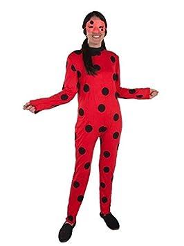 DISBACANAL Disfraz Ladybug para Mujer - Único, S