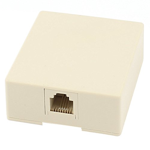 (RJ11 4 Pin Telephone Modular Single Port Surface Mount)