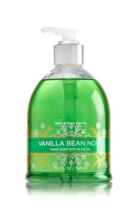 VANILLA BEAN NOEL Decorative Hand Soap with Olive Oil